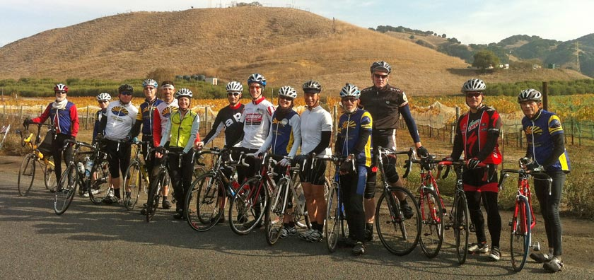 Diablo Cyclists on Alhambra Valley Road